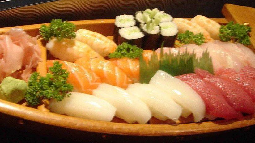 Sushi-kväll